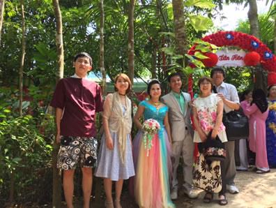 平成28年11月25日 レ・ミン・ハンさん結婚式