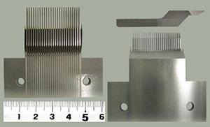 コネクターの自動機金型のパンチです。