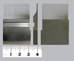 タングステンカーバイト超硬合金で作られています。自動機コネクター金型切断用パンチです。