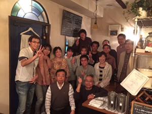27年5月 亀田工場長の送別会